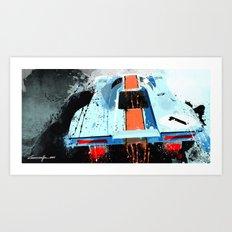 PORSCHE 917 K Le Mans Art Print
