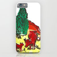 Big moo, wee moo (colored version) iPhone 6 Slim Case