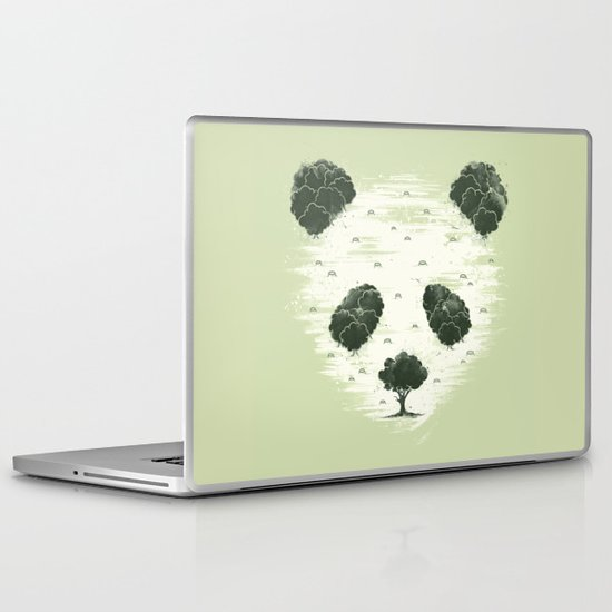 Deforestation Laptop & iPad Skin