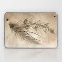 Bohemian Feather Laptop & iPad Skin