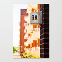 Apartment 9A Canvas Print