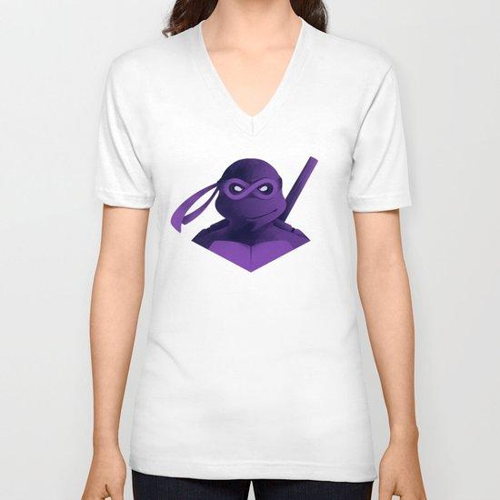 Donatello Forever V-neck T-shirt