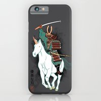 iPhone Cases featuring Uniyo-e by Hillary White