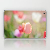 Tulips In The Garden Laptop & iPad Skin