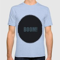 Boom Mens Fitted Tee Athletic Blue SMALL