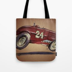 Red 24 Tote Bag