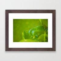 Verte Framed Art Print