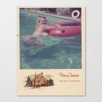 Jennie Lee Holiday Card … Canvas Print