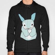 Blue Bunny Rabbit Hoody