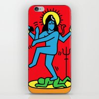 Shiva Keith Haring Tribute iPhone & iPod Skin