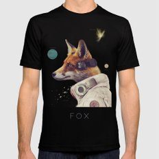 Star Team - Fox Mens Fitted Tee Black SMALL