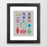 Colour Version Framed Art Print