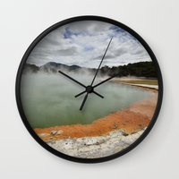 Thermal Pool Wall Clock