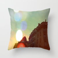 Apt. #123 Throw Pillow