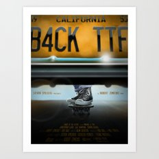 Back To The Future- All Star Art Print