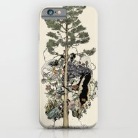 iPhone & iPod Case featuring Everdream Pine by RiversAreDeep