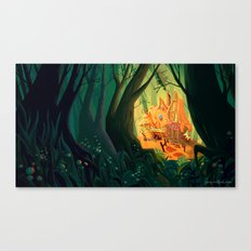 The Candy House Canvas Print