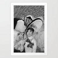 Audrey Hepburn ICONIC IC… Art Print