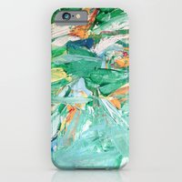 Melody In Green  iPhone 6 Slim Case