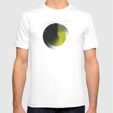 Shadow White Mens Fitted Tee SMALL