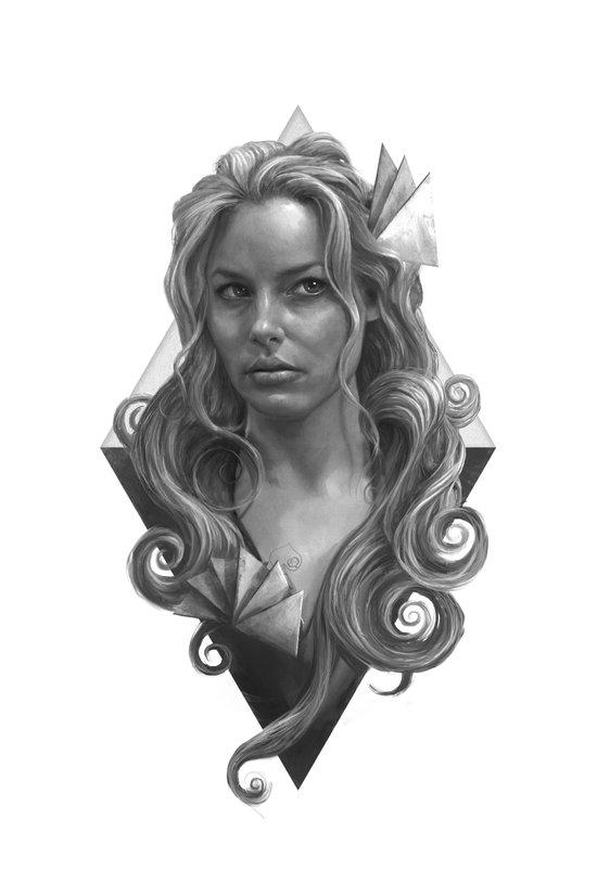Britta Canvas Print