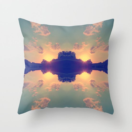 Multiple Sunsets  Throw Pillow
