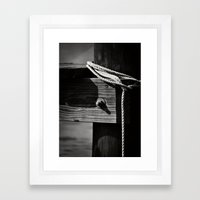Mooring Framed Art Print
