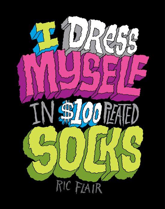 $100 Pleated Socks Art Print
