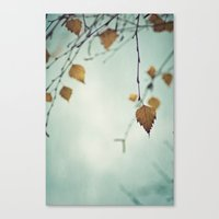 I Remember the Days Canvas Print