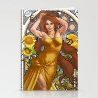 Zodiac Art Show - Leo Stationery Cards