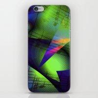 Blues Music iPhone & iPod Skin