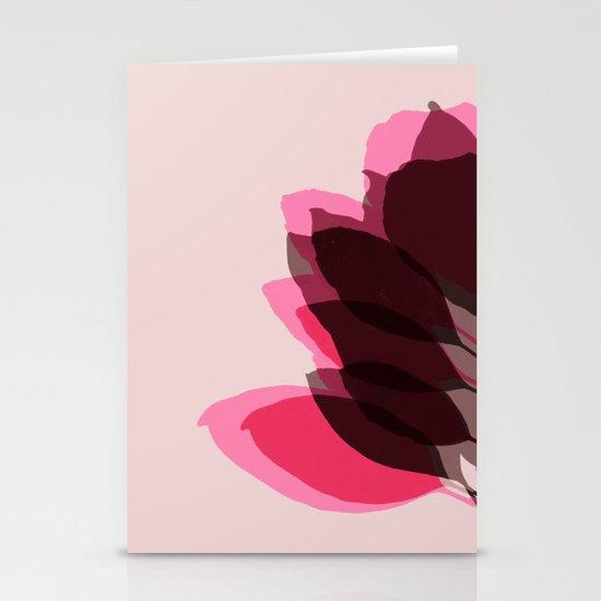 Blossom Pink Stationery Card