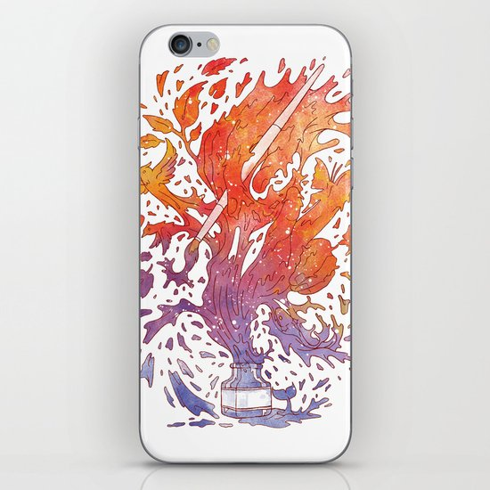 draw itself iPhone & iPod Skin
