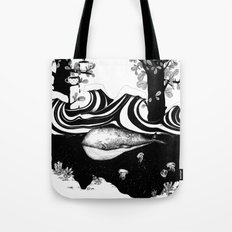 The Whale and The Balloons Tote Bag