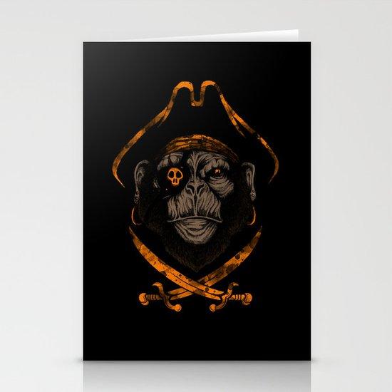 Captain sea monkey Stationery Card