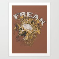 FREAK Art Print