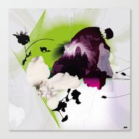 Fluctuating Canvas Print