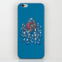 Blue Horde iPhone & iPod Skin