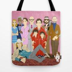 Royal Tenenbaums Family Portrait  Tote Bag
