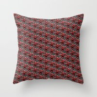 Barrel Of Monkeys Patter… Throw Pillow
