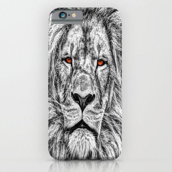 Black Lion iPhone & iPod Case