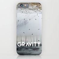 iPhone Cases featuring GRAVITY by cafelab