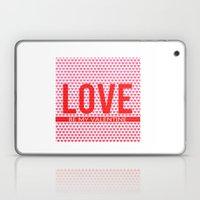 Love Be My Valentine Squ… Laptop & iPad Skin