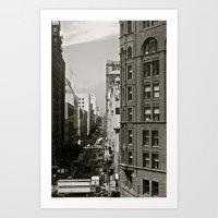 Urban Synthesis Art Print