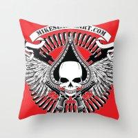 Love/War Throw Pillow