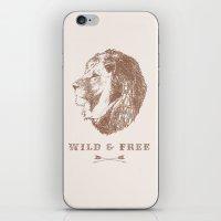 WILD & FREE iPhone & iPod Skin