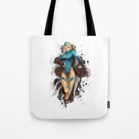Cammy White Tote Bag