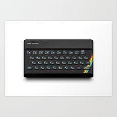 Pixel Spectrum Art Print
