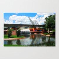 Epcot At Disney World Canvas Print