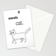 Neurotic Cat Stationery Cards